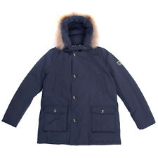 Fred Mello Parka Jacket Size Xxl / 15-16Y Detachable Raccoon Fur Trim Hooded