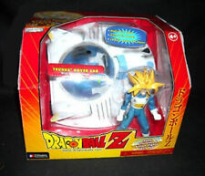 "Anime Manga DRAGON BALL Z 5"" TRUNKS Figure with HOVER CAR Toy vehicle RARE"