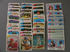 (54) 1980 Topps Star Player Lot NM-MT+  Nice Lot for set builders