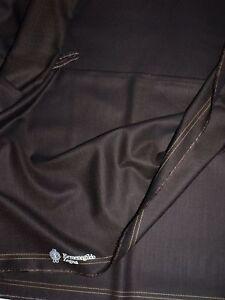 Ermenegildo Zegna Tessuto lana tailleur uomo Traveller 3,5 m Made in Italy