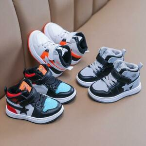 Boys Girls Winter Warm Toddler Sports Shoes Non-Slip Casual Sneaker Little Kids