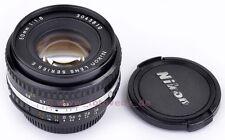 Nikon 50mm 1:1,8 Series E ( AIS-Versiion ) Japan ! TOP & CLEAN condition A/B