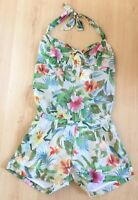 Promod Ladies Playsuit 14 Casual Shorts Holiday Summer New Pool Party Ibiza Tags