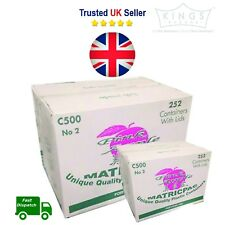 504 (2 boxes)  Pink Apple Plastic Food Containers and Lids C500