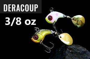 Jackall DERACOUP 3/8 oz Metal Blade Bait Choose Color For Bass From Japan