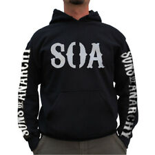 SALE! Officially Licensed Sons Of Anarchy - Reaper Hoodie S-XXL Sizes