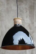 Kupfer schwarz Vintage Hängelampe Industrielampe Deckenleuchte Küche Loft shabby