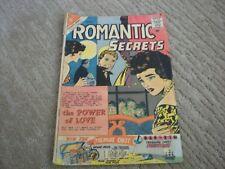 Romantic Secrets #31 (1961) Charlton Romance Comics