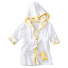 Just One You Made By Carter's Ducks Hooded Bath Robe swim cover 0-9 Months NWT