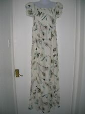 NEW W/T LADIES L/XL 12 14 16 SUMMER MAXI DRESS HOLIDAY CRUISE PARTY NIGHT OUT