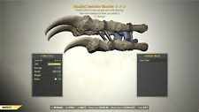 Fallout 76 (PC) 3🌟 Bloodied DEATHCLAW GAUNTLET Reflect Damage [+1 Strength] Brd