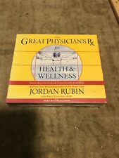 NEW Sealed AUDIO 6 CDs - Unabridged! The Great Physician's Rx - Jordan Rubin