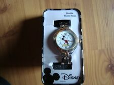 Disney mickey mouse women's watch needs battery new MCK167