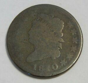 1810 - U.S. Large Cent - Classic Head - 1¢