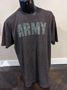 US Army T-Shirt Gray Size XL