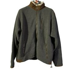 Mens Orvis Fleece Jacket. Size L Zip