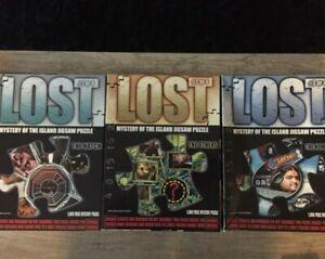 Puzzles Lost les disparus #1/2/3 neuf