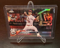 2018 Topps Chrome Jack Flaherty Rookie Refractor #4 St. Louis Cardinals RC SP