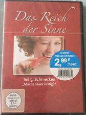 """DVD Das Reich der Sinne Teil 5: Schmecken  - """"Macht sauer lustig?"""" Neu & OVP"""