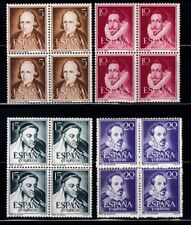 1950- 1955 ESPAÑA - SERIES Y BLOQUES 4