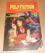 Pulp Fiction Soundtrack Poster Original 1994 Promo 30x20 RARE
