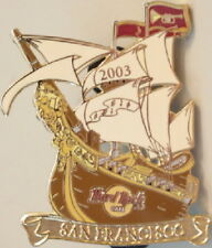 Hard Rock Cafe SAN FRANCISCO 2003 TALL SHIPS Sailboat Race PIN - HRC #19409
