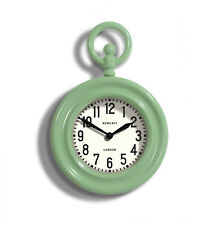 NEWGATE CLOCKS - Large Kitchen Wall Clock Vintage Green - The Fobwatch