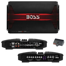 NEW BOSS PHANTOM PF2600 4 CHANNEL 2600 WATT AMP CAR AUDIO 2600W 4CH AMPLIFIER