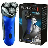 Remington Wet Tech Rotary Mens Electric Shaver Wet & Dry Waterproof Razor - AQ7