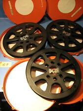 3 x Filmspulen 300 Meter für 16mm Film-Winkel mit Filmdose -Nr.D.47-Film spool