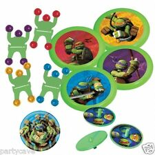 TEENAGE MUTANT NINJA TURTLES BOYS PARTY BAG FILLERS 24 PCE FAVOR PACK DECORATION
