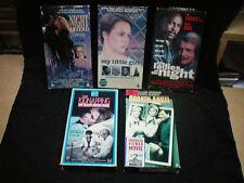 OOP Rare VHS Lot TV Drama Broken Angel, Night Friend, Kidnapping John Doe