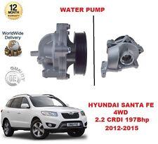 FOR HYUNDAI SANTA FE MK3 2.2 CRDI 4WD 2012-2015 197Bhp WATER PUMP