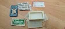 Vintage lot de lames de rasoir anciennes Gillette, ML, Wilkinson, Farma