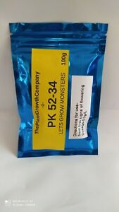 100g PK 52-34 Bloom Bud Booster UK SELLER