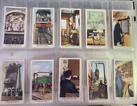 Wills™ Picture Cigarette Cards: RAILWAY EQUIPMENT. Complete Set of 50