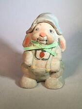 Dreamsicle Bunny Figurine Kristin 93 Cast Art 3 inch tall Rabbit Figure