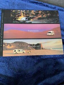 1997 Rialta By Winnebago Motorhome Brochure RV VW Camper