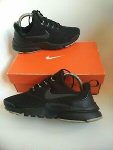 Nike presto Trainers Size 5.5 triple black max huarache