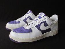 Nike 2008 Air Force I AF-1'82 Purple White Low 315115-511 Men's US 12 EU 44.5