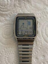 Vintage Timex Q Chrono Alarm Timer Digital Watch