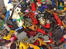 50x LEGO ® personnages accessoires, pièces, collection, Liasse (City, Ville, police, etc.)