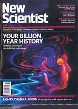 November New Scientist Science Magazines
