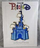 Disney Parks Patched Castle Patch Magic Kingdom Large Jumbo Adhesive - NEW