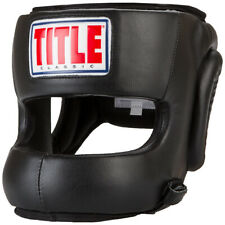 Title Classic Face Protector Adult Boxing Headgear