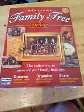 Heritage Family Tree Deluxe - Family History search - Used