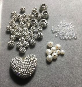 Shambala Disco Ball Beads. Sparkling Crystals. Sold Per Collection. 🌷