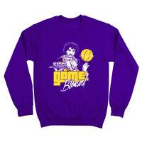 Game Blouses Prince  Basketball  Funny  Humor  Party Purple Crewneck Sweatshirt