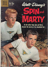 SPIN AND MARTY-WALT DISNEY'S #1026 1959 DELL ''4-COLOR'' WESTERN TV VG