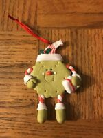 Green Cookie Christmas Ornament